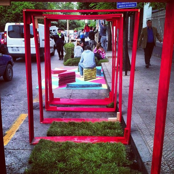 Photo by diegocarrascog #parkingdaycl