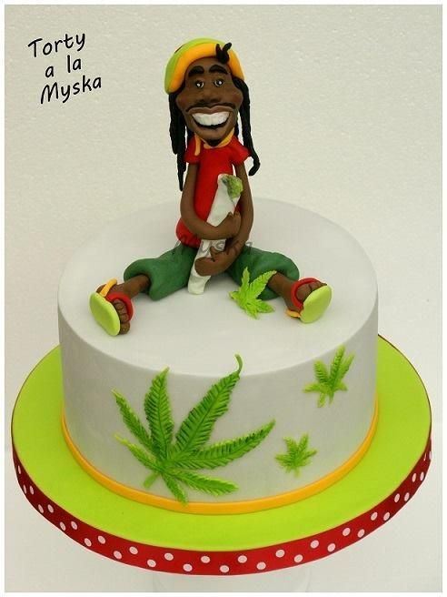 Hi there! I am Rastaaa - Cake by Myska