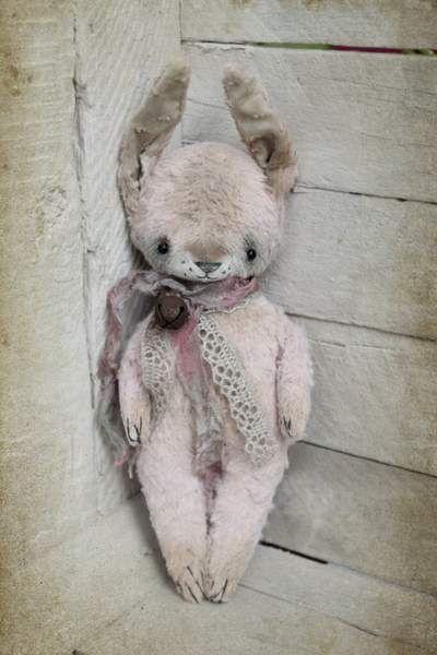 Traveling friends Bunny By Irina Drozdenko - Bear Pile