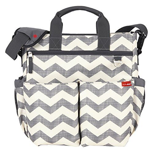 Skip Hop Duo Signature Diaper Bag with Portable Changing ...