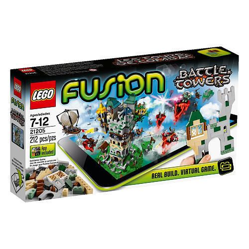 LEGO Fusion Set 21205 Battle Towers 212 Pcs Puzzle Building Game with App New #LEGO
