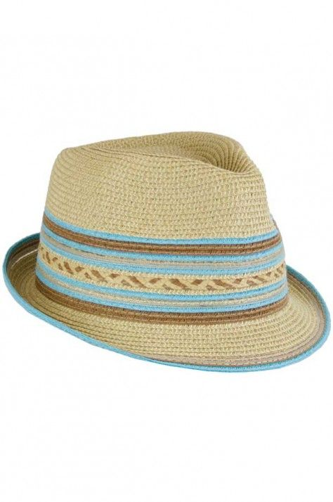 Jendi Multi Coloured Fedora Hat