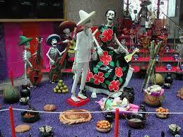 Resultado de imagen para altar de muertos Mixquic