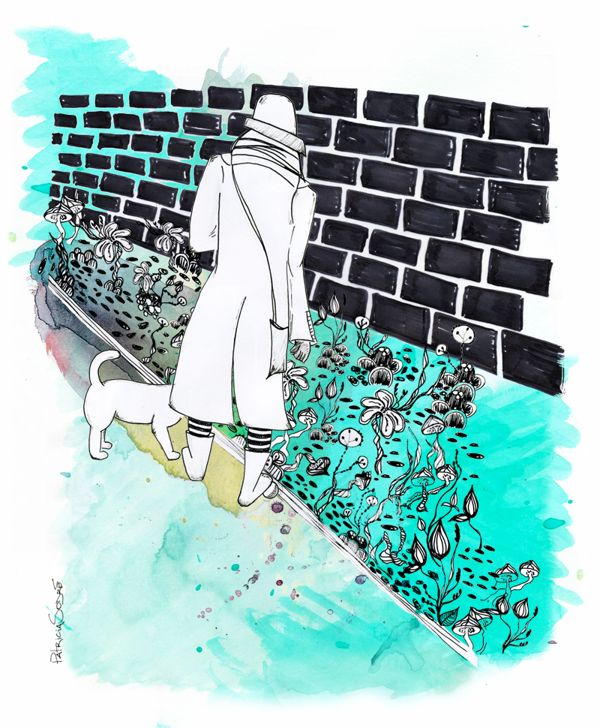 Reportage Illustration - The London Series by Patricia Sodré, via Behance