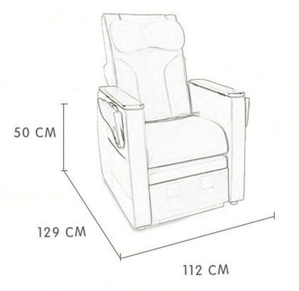 China Manufacturer Electric Nail Spa Sofa Pedicure Massage Chair Manicure Station Spa Pedicure Chairs Manicure Chair Pedicure Station