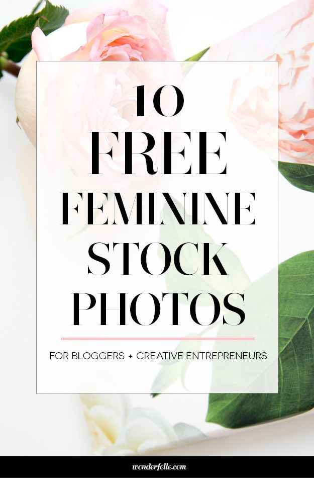 10 free feminine styled stock photos for bloggers + creative entrepreneurs. Perfect for social media or blog graphics. http://wonderfelle.com/freestockphotos