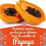 Para Q Sirven Las Semillas De Papaya Beneficios