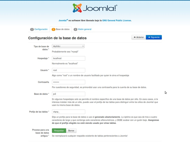 videoJuegos y Open Source: Como instalar Joomla 3 en Centos 6.3 paso a paso