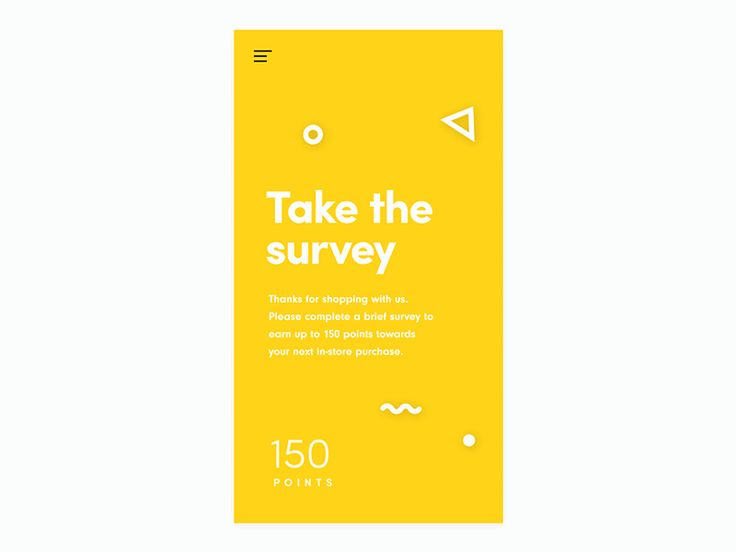 Vacuum - survey prototype intro by BilalFollow us on Instagram @graphicdesignblg