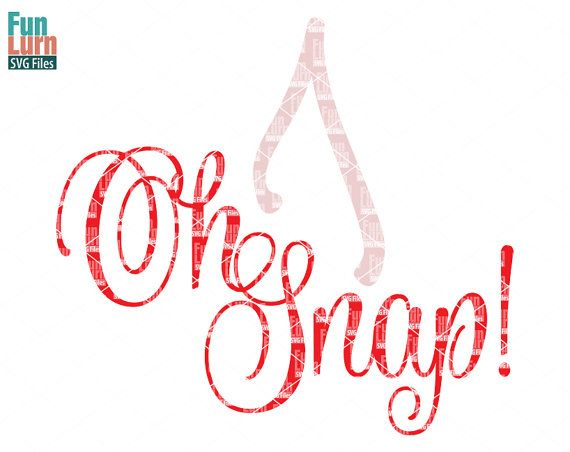 Oh Snap SVG Thanksgiving SVG Holiday SVG Wishbone by FunLurnSVG