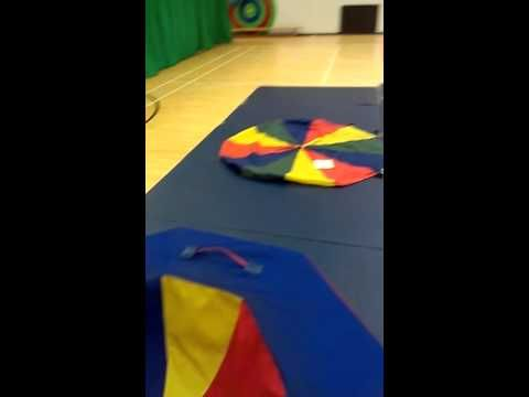 ▶ Set up for primary special needs gymnastics lesson - YouTube