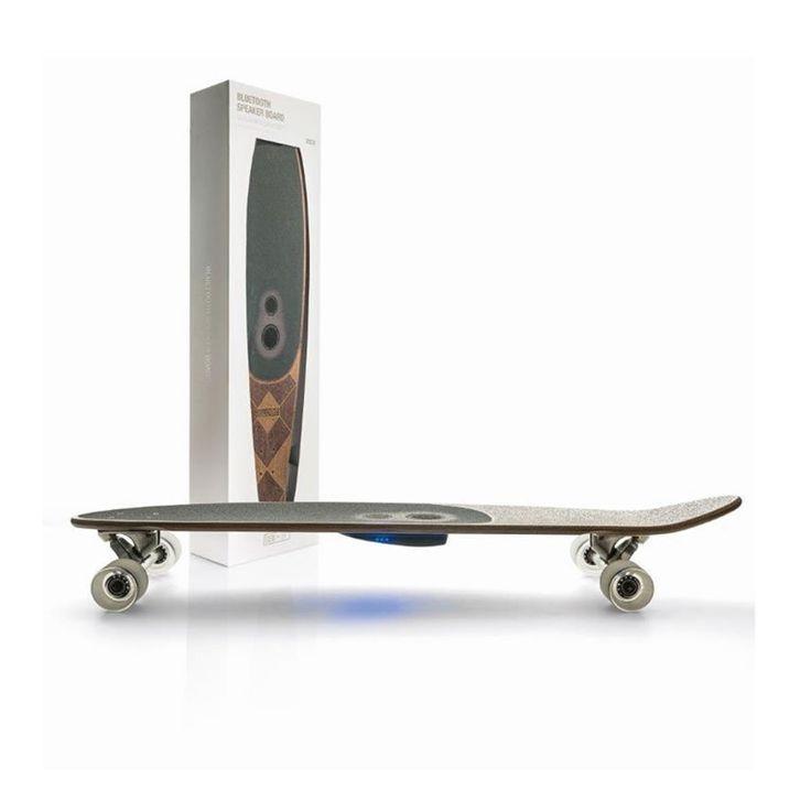 Globe Skateboards Have Built-In Bluetooth Speakers For Ultimate Soundtrack -  #skateboards