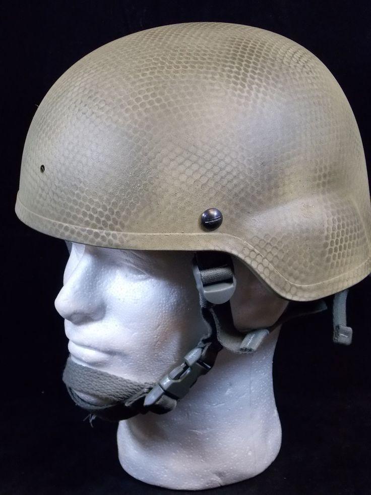 Tactical Kevlar Advanced Combat Helmet ACH Size Large