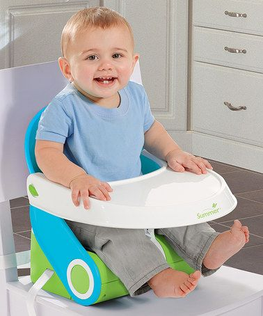 Love this Sit N' Style Compact Folding Booster Seat by Summer Infant on #zulily! #zulilyfinds