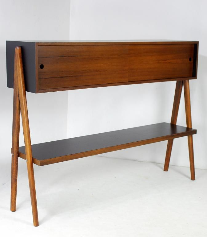 Design Skandynawski Regał Etażerka Vintage Meble