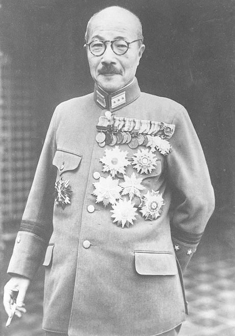 Hideki Tojo was the prime minister and military leader of Japan during WWII. The architect of the Japanese war of expansion, he was arrested after the war, tried as a war criminal, and executed by the Americans.