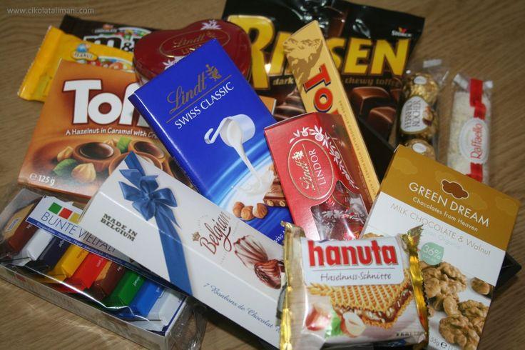 Cumartesi gecelerine özel bir çikolata paketi   Cumartesi Gecesi Maxi Paket ile 14 çeşit Avrupa çikolatası kargo dahil sadece 90 TL  www.cikolatalimani.com