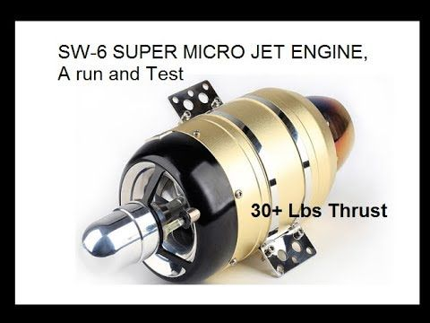 NEW Micro Jet Engine 30 lb thrust Very AFFORDABLE! 12kg