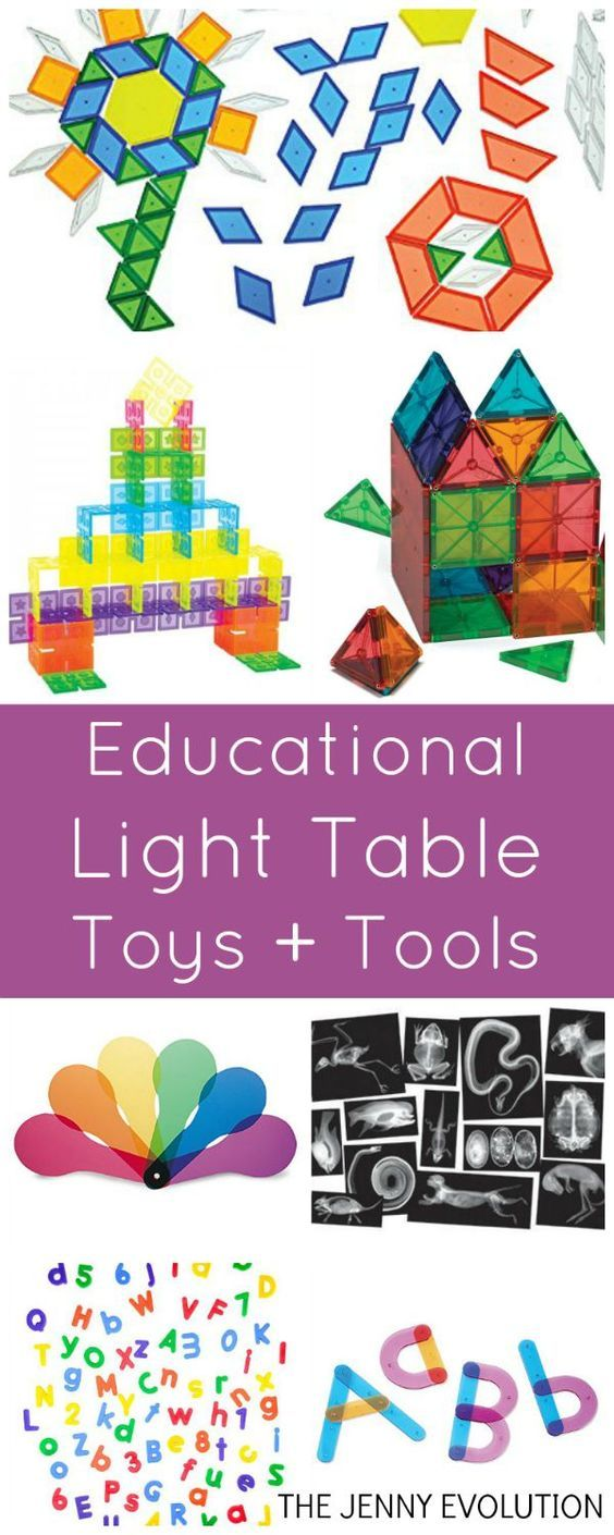 Best Toys and Educational Tools for Light Tables - Perfect for Preschool and Sensory Activities!