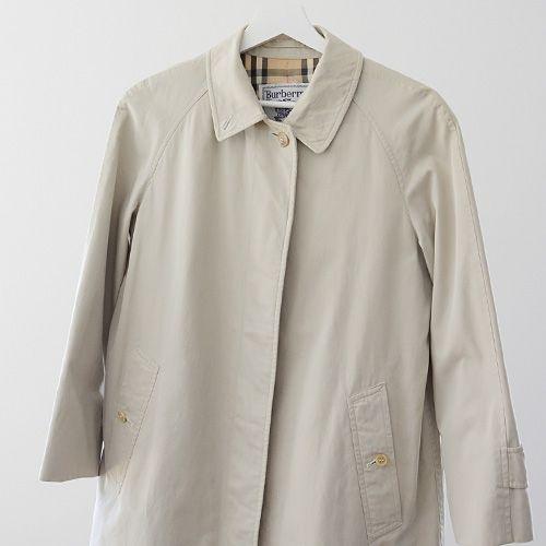 福島市の古着屋 Clothing and more FUNS BLOG: バーバリー ヴィンテージ Burberrys 80~90年代 プローサム ステンカラー コート