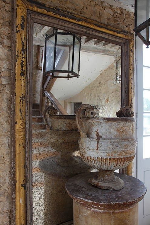 greige: interior design ideas and inspiration for the transitional home : greige and gold in France...