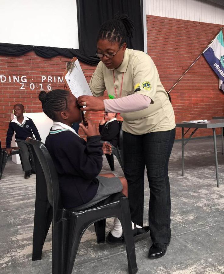 Table View #LionsClub (South Africa) facilitated vision screening for 112 school children