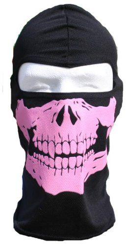 LADIES PINK SKULL Face Mask Motorcycle facemask Full Ski Hood WINDMASK,http://www.amazon.com/dp/B00B8NLUK2/ref=cm_sw_r_pi_dp_dfqOsb0F31XY41TR