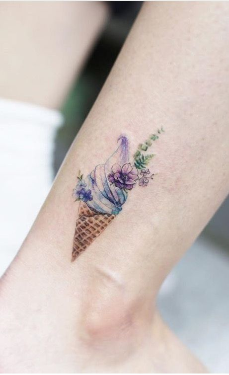 Best 25 ice cream tattoo ideas on pinterest for What cream to use on tattoo