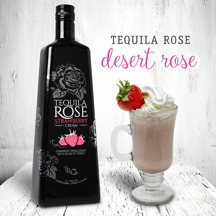 ... Tequila Rose 0.75 oz McCormick Irish Cream 0.25 oz Grenadine Add ice