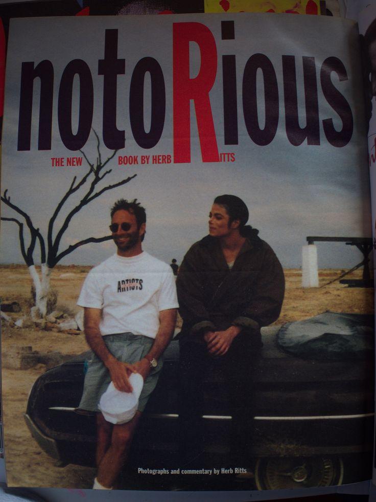 NotoRious - Herb Ritts & Michael Jackson (Salton Sea, California, March 1992).