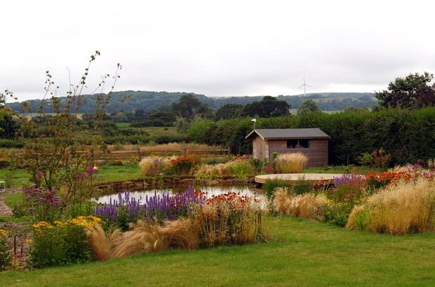 Alitura Garden Design - Ringmer Sussex - Beautiful rural garden