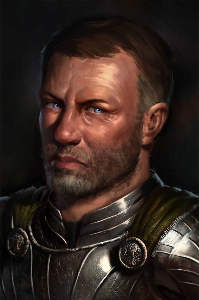 Kesten Garess, captain of the Forlorn Brigadiers.