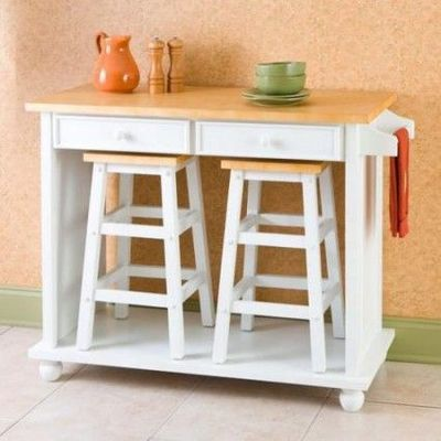 small+island+with+stools | breakfast island. i love that you can store the stools underneath when ...