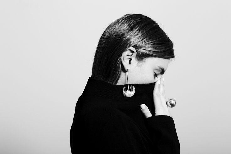 Rare Vivianna Torun Bulow-Hube Earrings