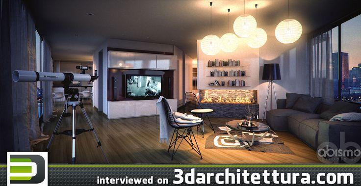 Fernando Salcedo, 3d, render, architecture, design, 3darchitettura http://www.3darchitettura.com/fernando-salcedo-3d-renders-for-architecture/