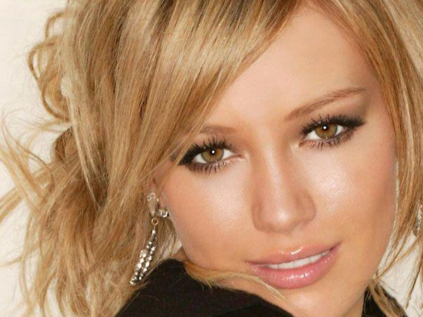 Hillary Duff: uma maquiagem de noiva sensual