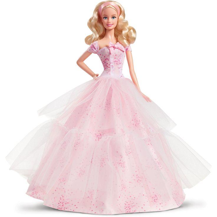 Коллекционная кукла «Пожелания ко Дню рождения», Barbie | Barbie.Ru | Барби в России