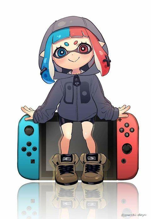 splatoon switch