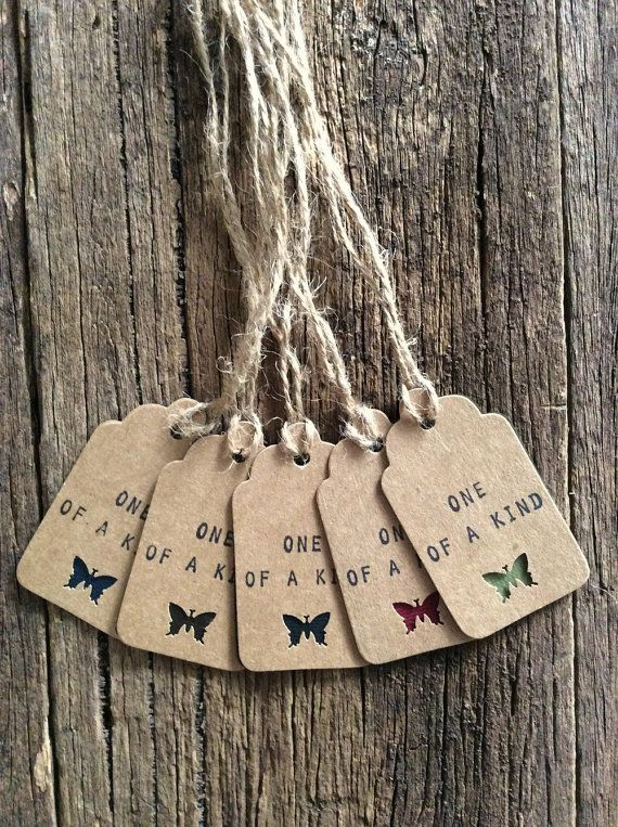 Handmade Gift Tags One of a kind tags Product tags by Crafting Emotion $5.00AUD