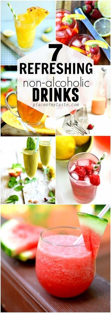 7 REFRESHING NON ALCOHOLIC DRINKS