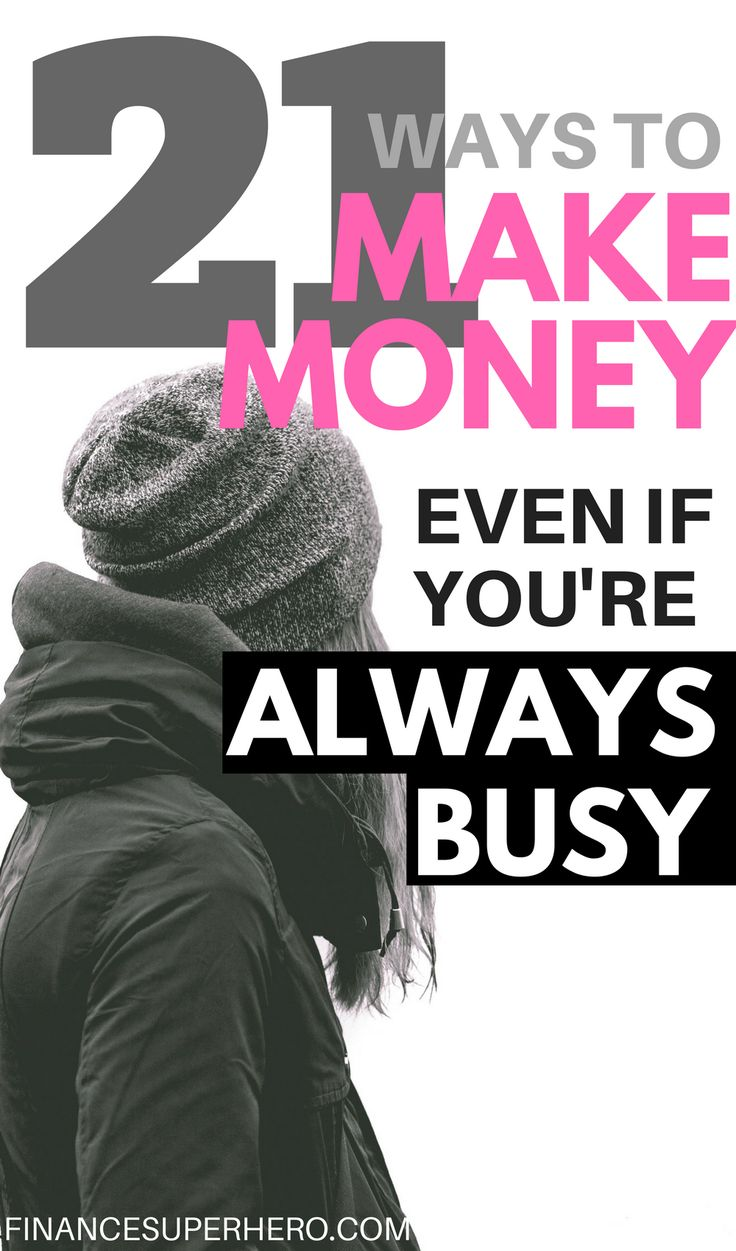 Could earning more money change your life? You have to check out these 21 ways to make money - they are GREAT for anyone, and even busy people can pick up one or two of these ideas to earn extra cash.