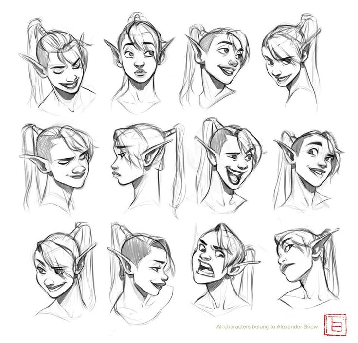 drawing-facial-expressions