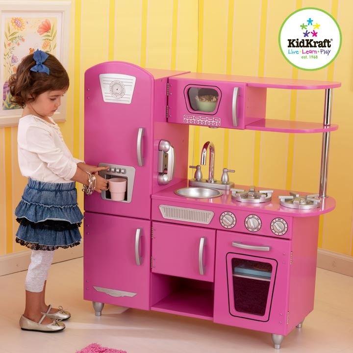 Kidkraft Bubblegum Vintage Kitchen 53220 189 95 Free Shipping Click Here Http