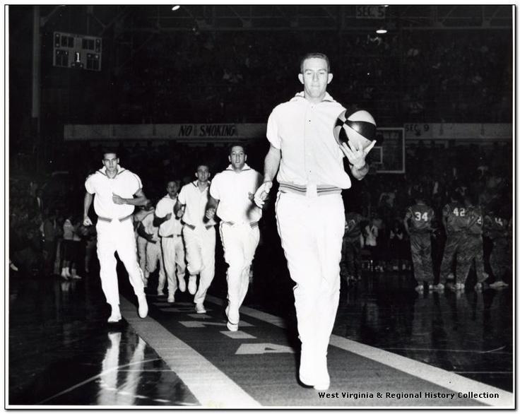 WVU basketball 1960