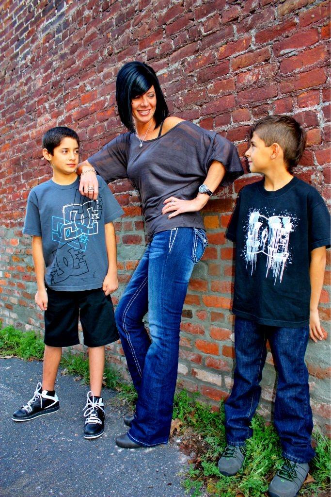 Traci & Her Boys