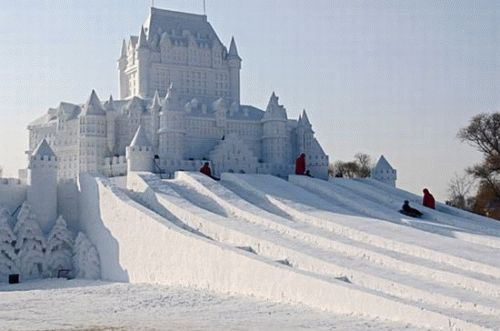 Quebec Winter Carnival.