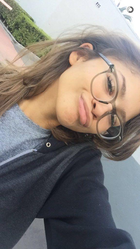 Zendaya on snapchat 11/9/15