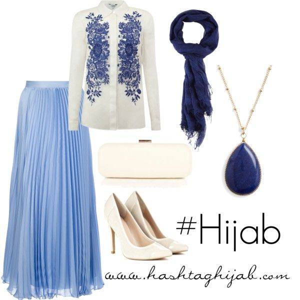 """Beautiful colour combo! """"Hashtag Hijab Outfit #16"""" by hashtaghijab on Polyvore"""