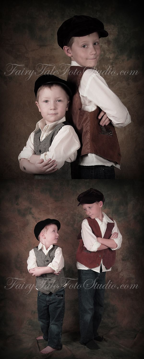 Fashion corner bountiful utah - Old Fashioned Vintage Style Brothers Siblings 9 Year Old And 4 Year Old Boys Portrait Poses