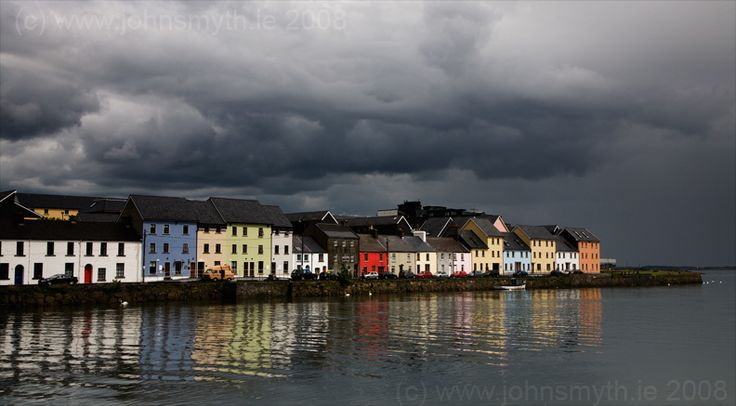 Galway, Ireland...they say tourists visit and never leave...it's that charming.    Been there. :)